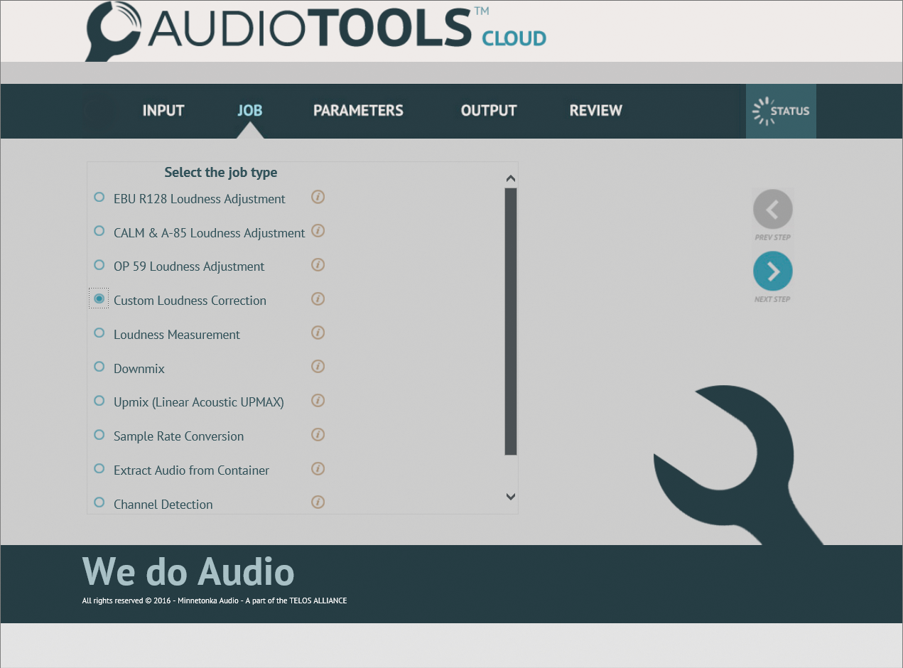 AudioTools CLOUD